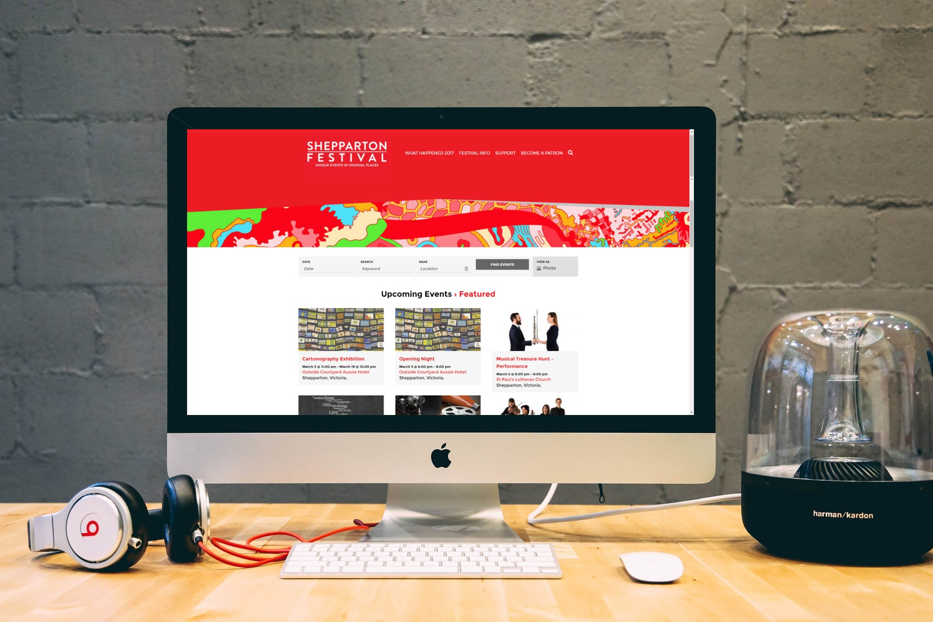Shepparton Festival Portfolio on Mac