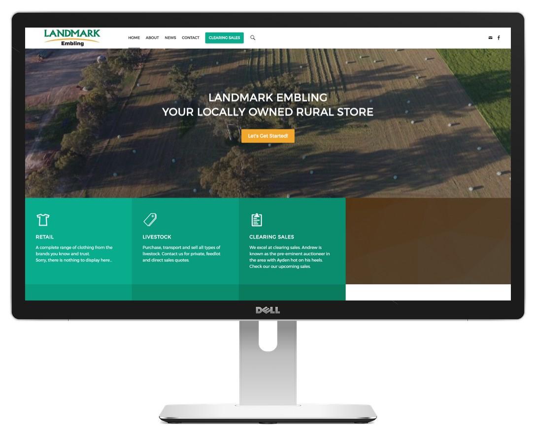 Landmark Embling Home Page