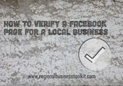 How to Verify a Facebook Page for a local business