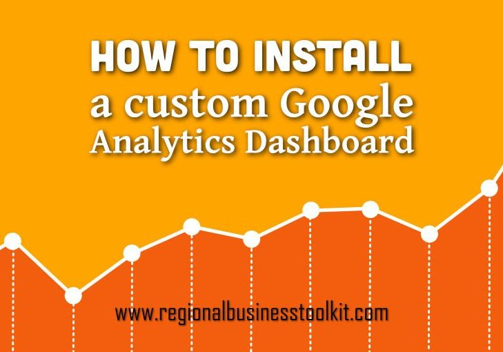 How to install a custom google analytics dashboard